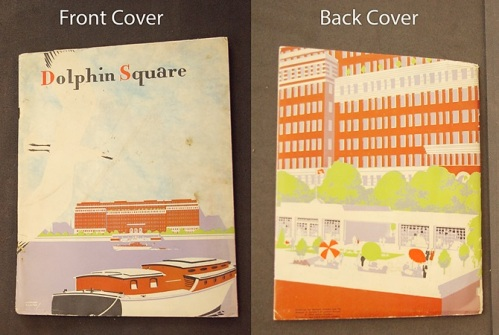 Dolphin Square Cover (Acc 2518/2). Image property of Westminster City Archives