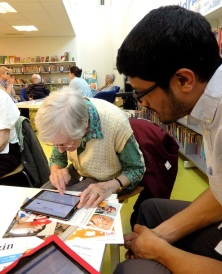 HLS Spring into Spring event at Pimlico Library