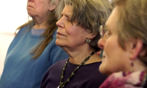 Humming in Harmony / Mind the Body workshop at Westminster Music Library for Mental Health Awareness Week, May 2016
