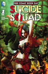 Suicide Squad for Free Comic Book day 2016
