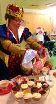 Mad Hatter's Tea Party at Church Street Library, May 2016