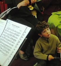 Performing a celebration of Peter and the Wolf for BBC Music Day 2016 at Westminster Music Library