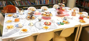 Mad Hatter's Tea Party at Pimlico Library, May 2016