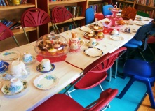 Mad Hatter's Tea Party at St John's Wood Library, May 2016