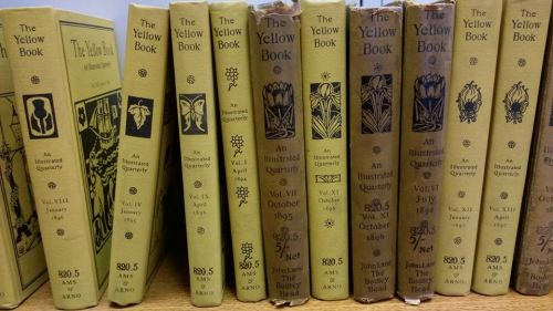 The Yellow Book at Westminster Reference Library