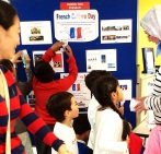 Children's Treasure Hunt at the French Culture Day at Church Street Library, July 2016