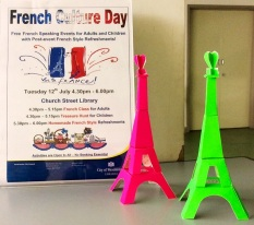 French Culture Day at Church Street Library, July 2016