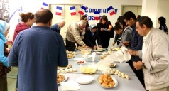 Wonderful French food at the French Culture Day at Church Street Library, July 2016