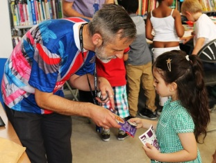 Indoor Street Party for the Queen's 90th birthday, Maida Vale Library, June 2016
