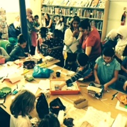 Chocolate Challenge at Maida Vale Library - part of The Big Friendly Read 2016