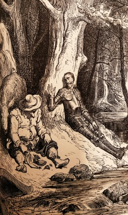 Illustration by Gustave Doré, in The History of Don Quixote by Miguel de Cervantes Saavedra