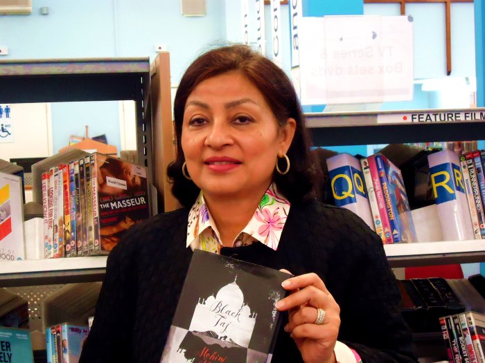 Mohini Kent at Paddington Library, July 2016