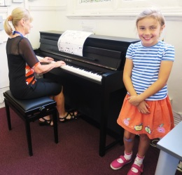 'Music for Giants' at Westminster Music Library, August 2016