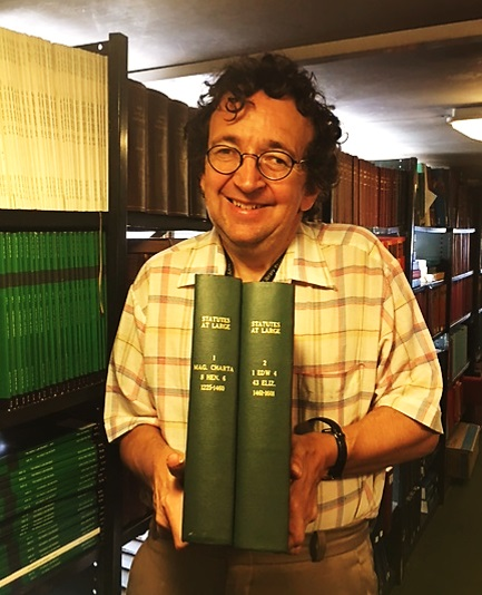 Statutes at Large - Stephen at Westminster Reference Library, 2016