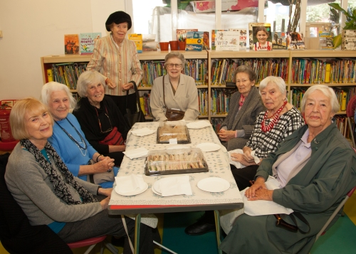 HLS Musical Lunch at St John's Wood Library for Silver Sunday 2016