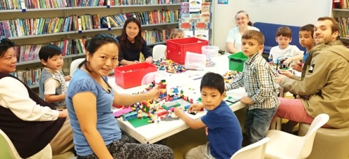 Pimlico Library Lego Club, September 2016