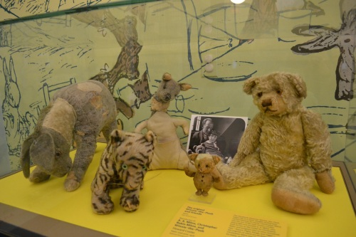 Winnie the Pooh and friends in the New York Public Library, January 2015. Picture credit: Catherine Cooke