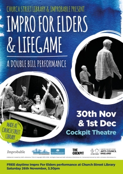 Impro for Elders flyer front