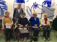 Members of HLS attend the Impro for Elders dress rehearsal, November 2016