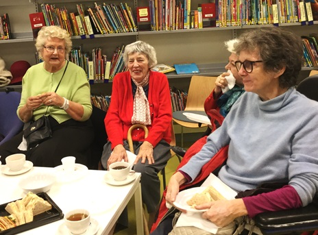 Home Library Service users visit Pimlico Library, December 2016
