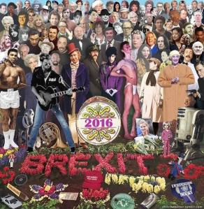 December 2016 version of Sgt Pepper cover, by Chris Barker