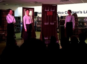 'A Christmas Carol' by Librarian Theatre, Pimlico Library 2016