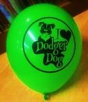 Dodger Dog balloon