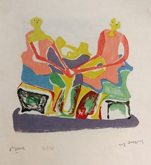 'Shelter Sketch Book' by Henry Moore