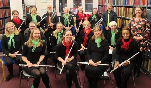 Opal Flutes at Westminster Music Library, December 2016