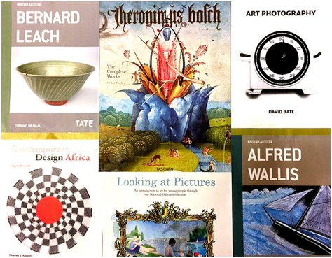 Art books collage 2