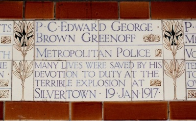 Plaque, Postman's Park, City of London