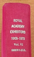 Royal Academy Exhibitors, 1905-1970
