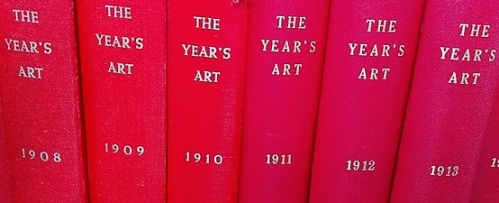 The Year's Art, volumes 1908 - 1913