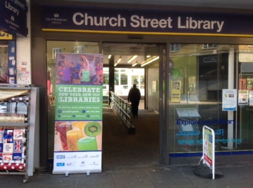 Church Street Library: 'New Year, New You'. January 2017