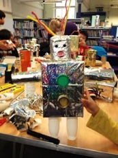 Half term crafts at Maida Vale Library, February 2017