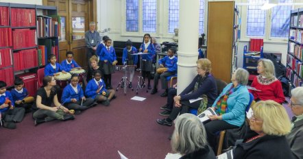 Henry Purcell workshop at Westminster Music Library, February 2017