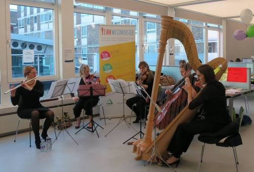 The Maritime Quintet at Church Street Library for 'New Year, New You'. January 2017