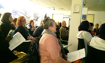 Community Celebration Day at Church Street Library, December 2016