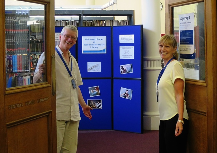 Open doors at Westminster Music Library