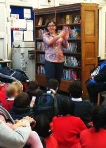 Yara Evans at Mayfair Library, March 2017