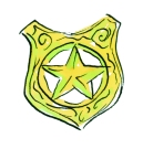 AGENTS BADGE