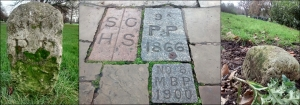 Boundary stones in Kensington Gardens and Hyde Park