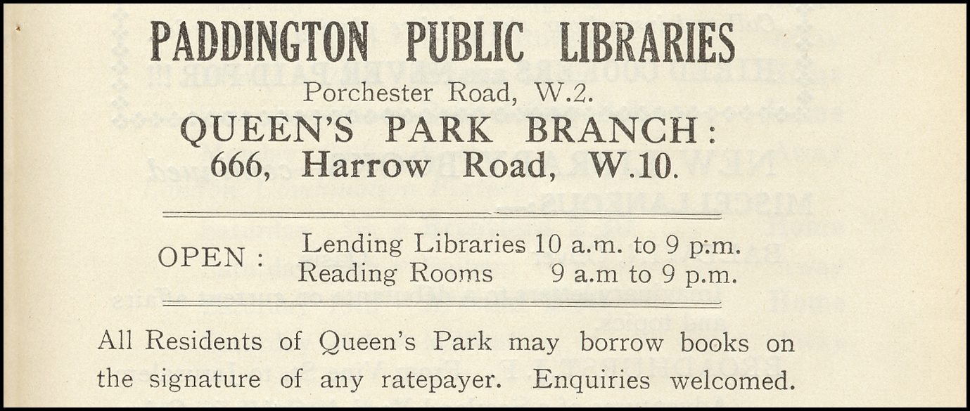 03 Queens Park Public Library