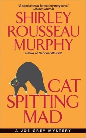 cat spitting mad book cover