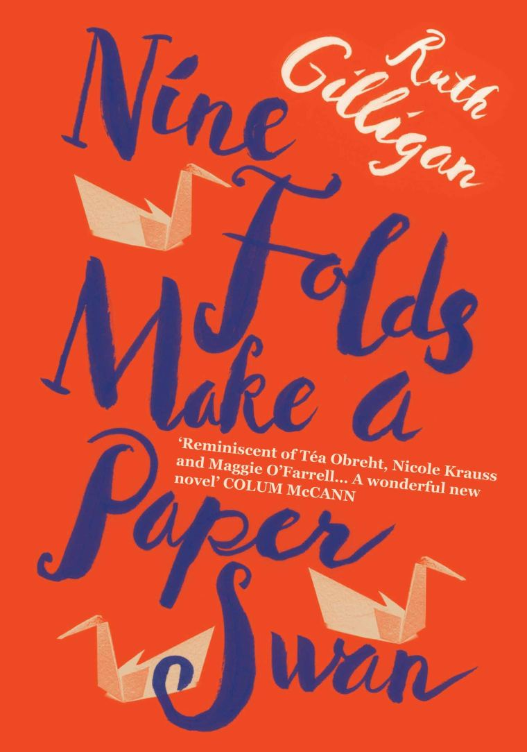 nine folds make a paper swan book pic