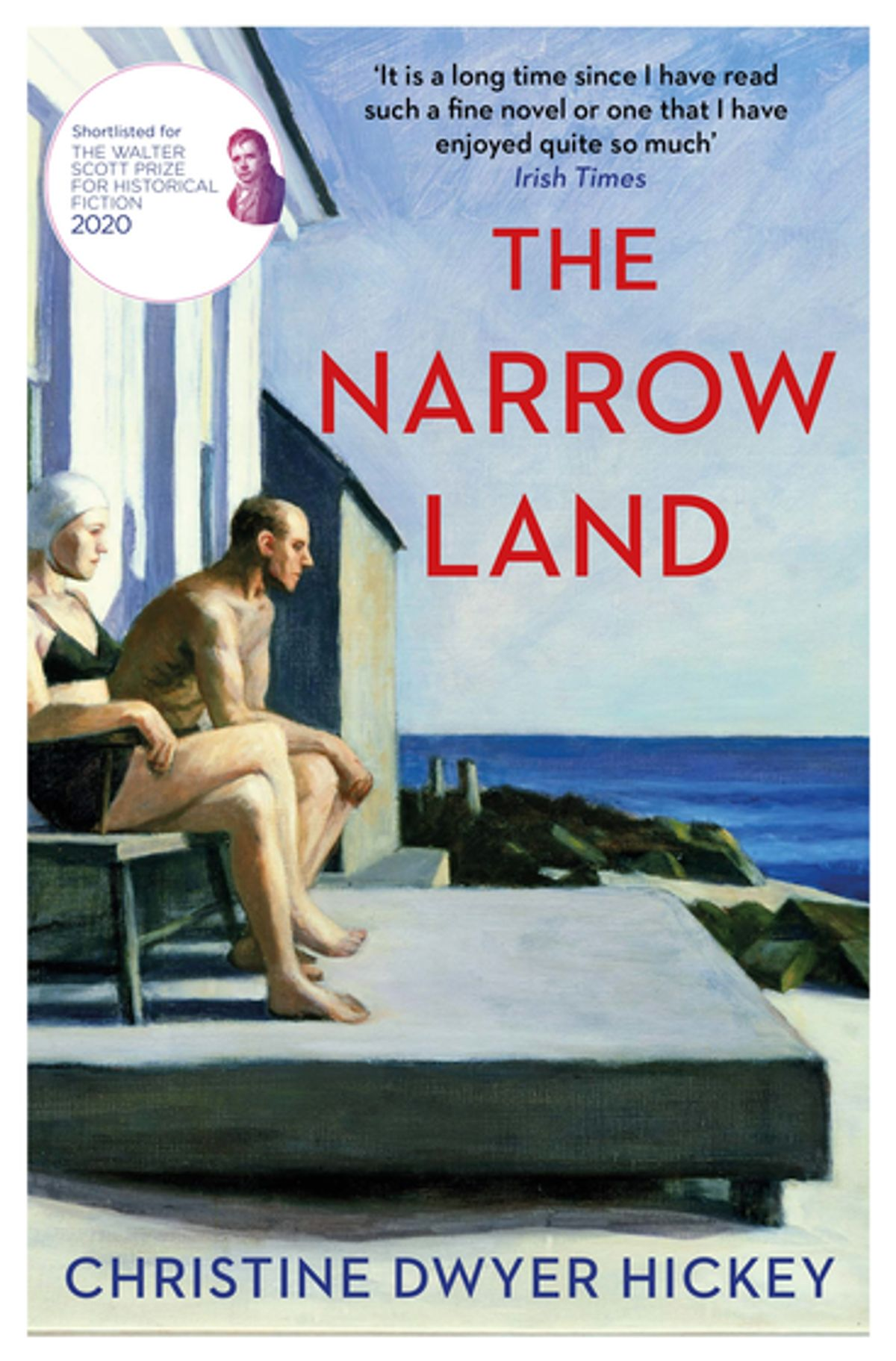 the narrow land book cover